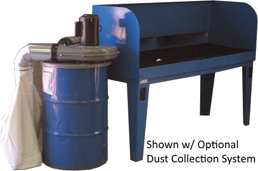 Grinding Station -Shown w/ Optional Dust Collection System